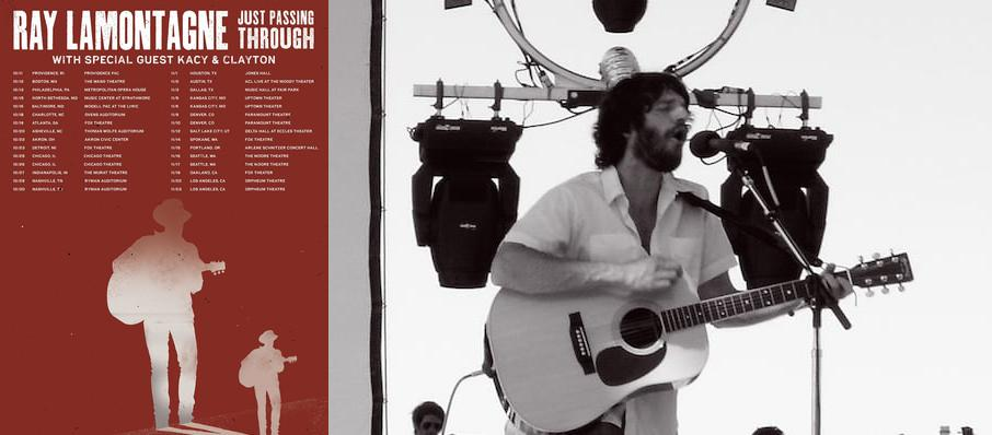 Ray LaMontagne at Hershey Theatre