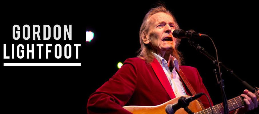 Gordon Lightfoot at Hershey Theatre