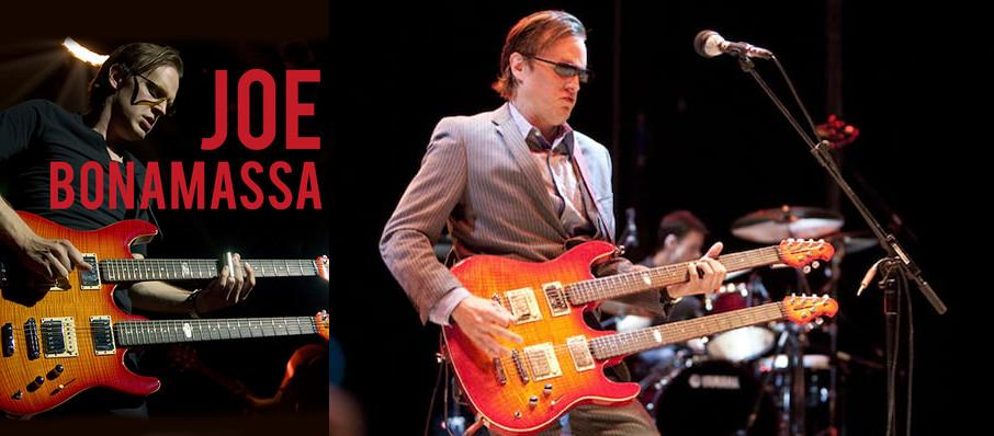 Joe Bonamassa at Hershey Theatre