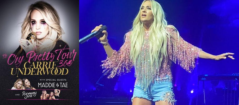 Carrie Underwood at Giant Center
