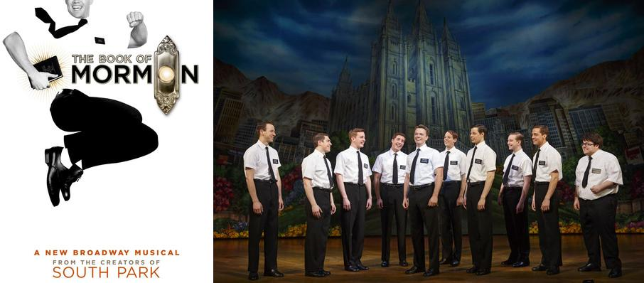 The Book of Mormon at Hershey Theatre