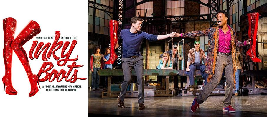 Kinky Boots at Hershey Theatre