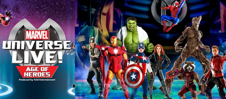 Marvel Universe Live! at Giant Center