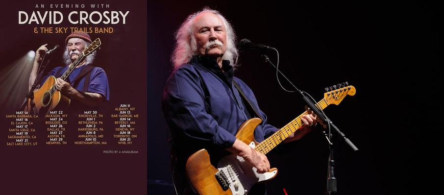 David Crosby at Whitaker Center