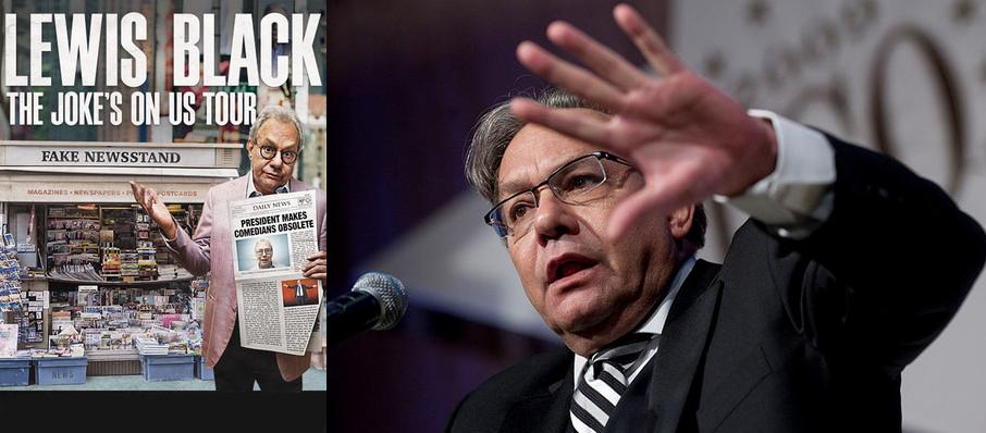 Lewis Black at Hershey Theatre