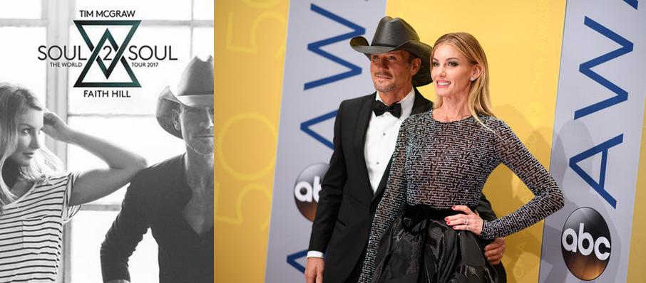 Tim McGraw and Faith Hill at Giant Center