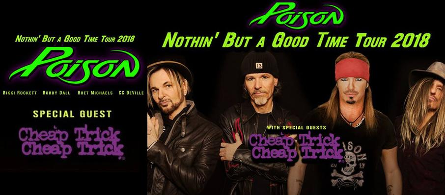 Poison with Cheap Trick at PPL Center Allentown