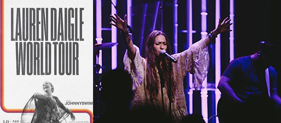 Lauren Daigle at Giant Center