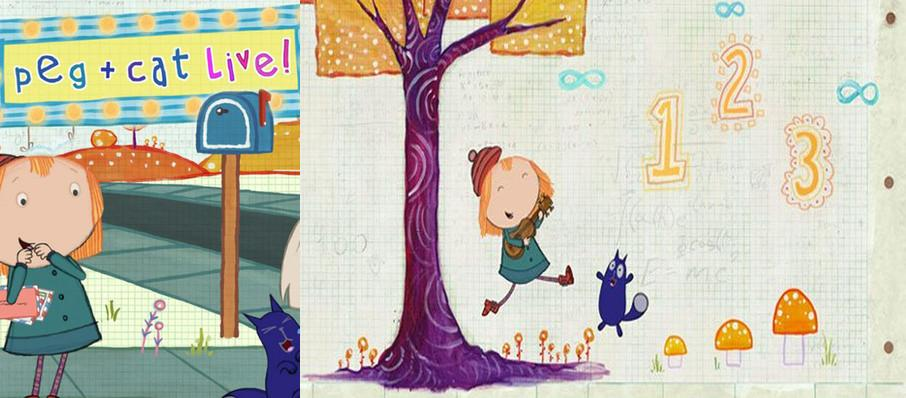 Peg and Cat at Hershey Theatre