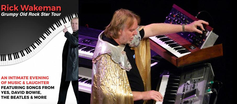 Rick Wakeman at Whitaker Center