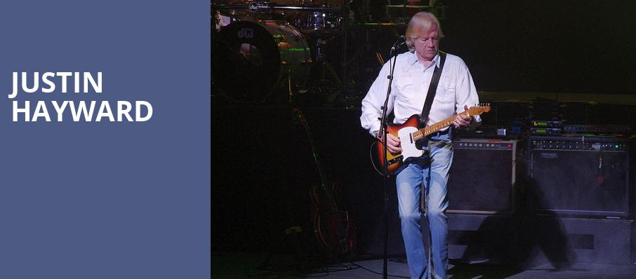 Justin Hayward, Whitaker Center, Hershey