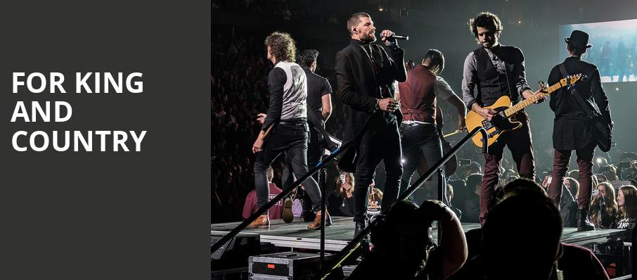 For King And Country, Giant Center, Hershey