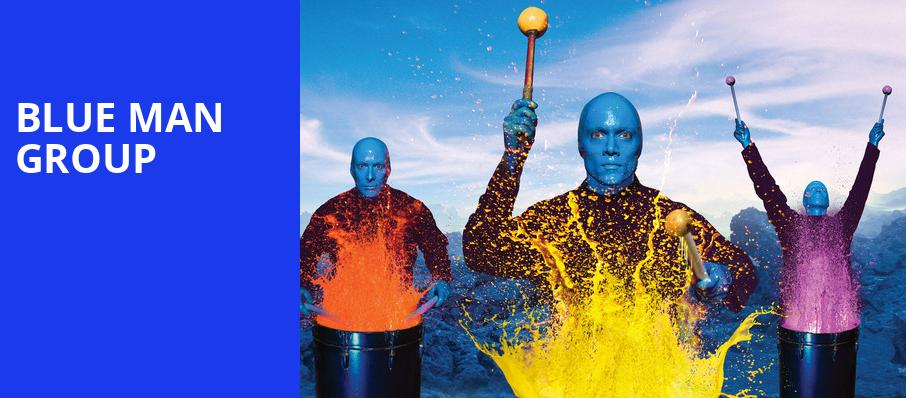 Blue Man Group, Hershey Theatre, Hershey