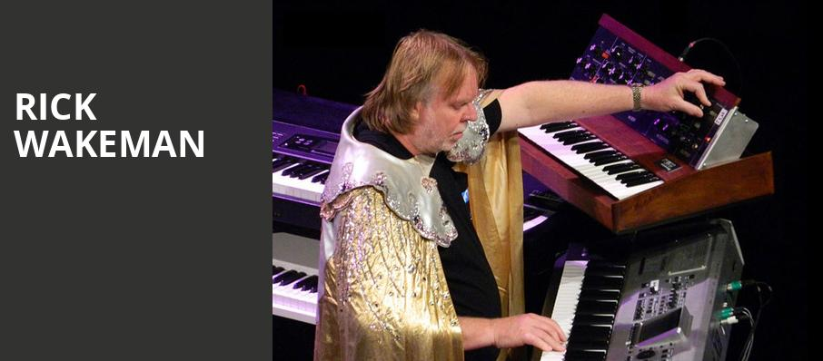 Rick Wakeman, Whitaker Center, Hershey