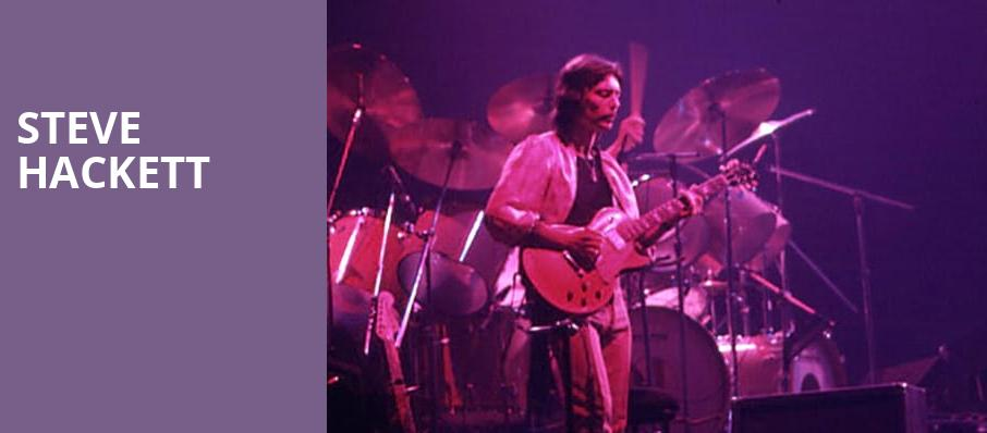 Steve Hackett, Whitaker Center, Hershey