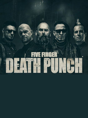 Five Finger Death Punch, Giant Center, Hershey